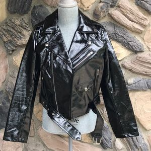 Fashion Nova Faux Leather Jacket